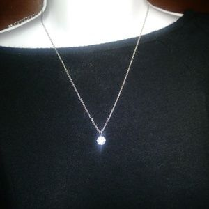 Cubic zirconia necklace new in box